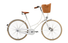 Creme Holymoly Doppio Stadsfiets Dames 3-speed, dynamo wit